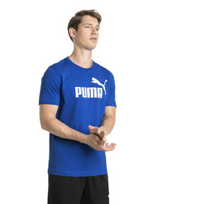 Thumbnail 1 of Essentials Short Sleeve Men's Tee, Puma Royal, medium