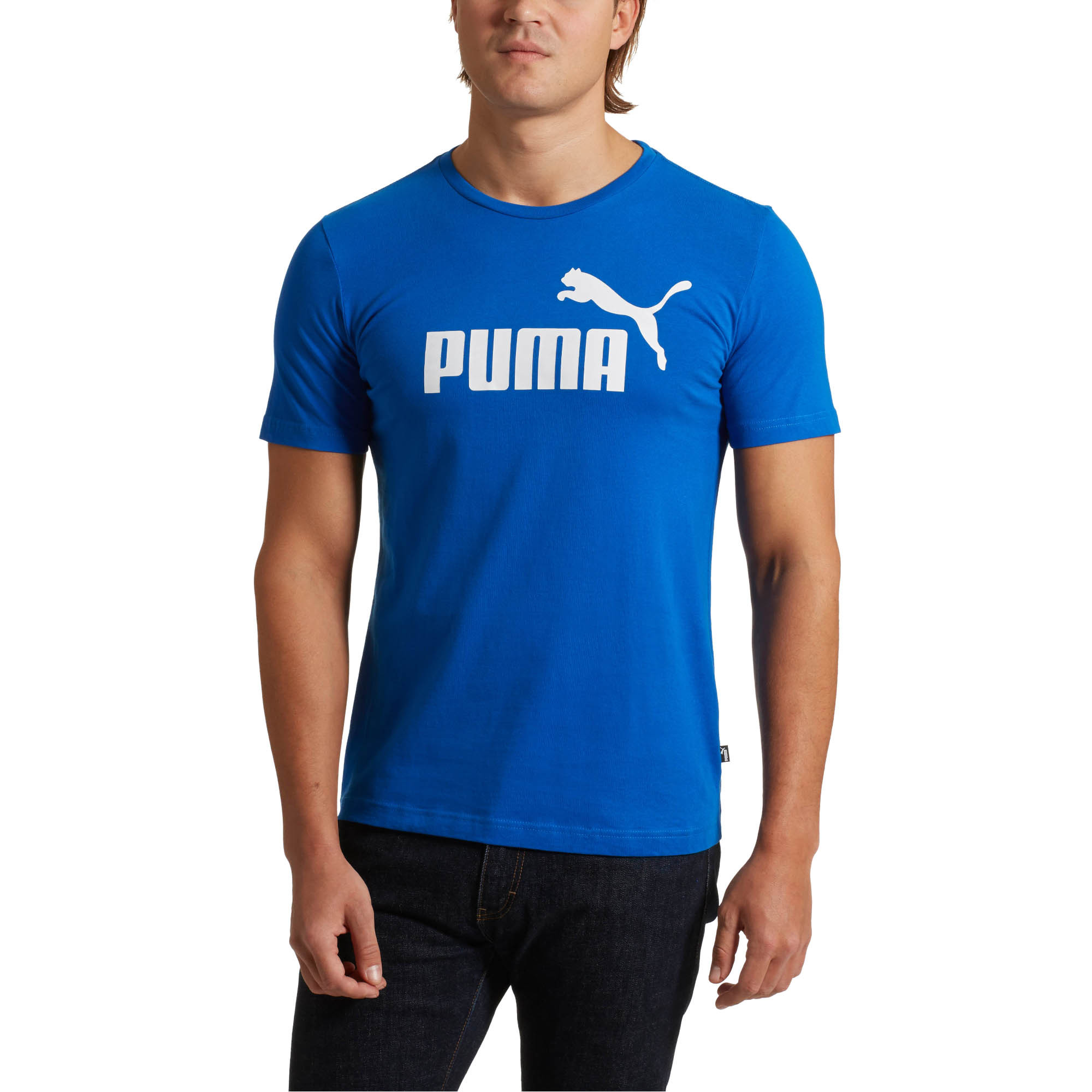 PUMA-Essentials-Men-039-s-Tee-Men-Tee-Basics thumbnail 4