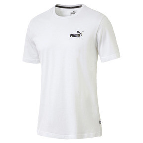 Thumbnail 1 of Men's Essentials Small Logo T-Shirt, Puma White, medium