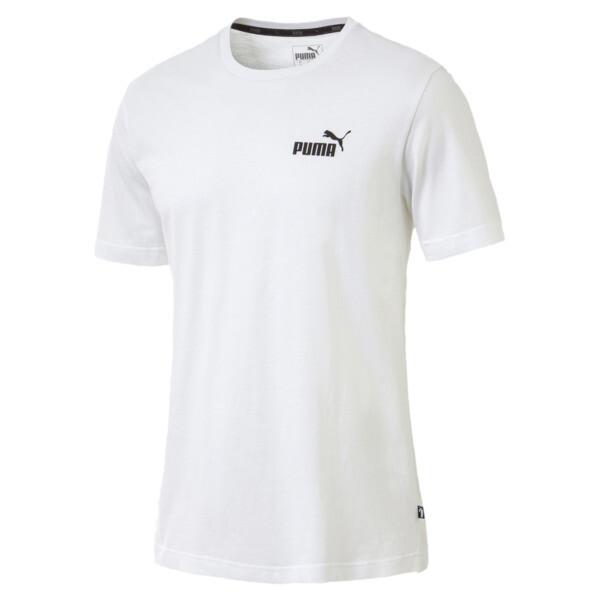 T-Shirt Essentials Small Logo pour homme, Puma White, large