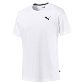 Thumbnail 4 of Men's Essentials Small Logo T-Shirt, Puma White-_Cat, medium