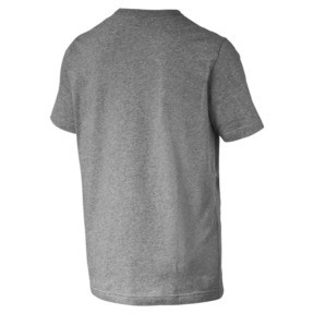 Thumbnail 5 of Men's Essentials Small Logo T-Shirt, Medium Gray Heather-_Cat, medium