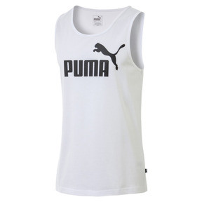 Thumbnail 1 of Essentials Men's Tank Top, Puma White, medium