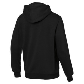 Thumbnail 3 of Essentials Men's Fleece Hoodie, Puma Black, medium