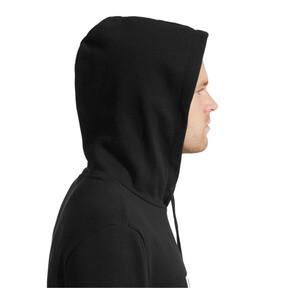Thumbnail 4 of Essentials Men's Fleece Hoodie, Puma Black, medium