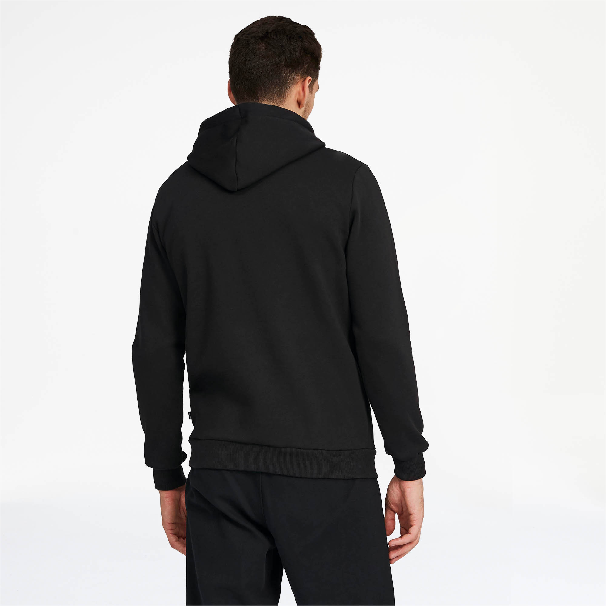 PUMA-Essentials-Men-039-s-Fleece-Hoodie-Men-Sweat-Basics thumbnail 5