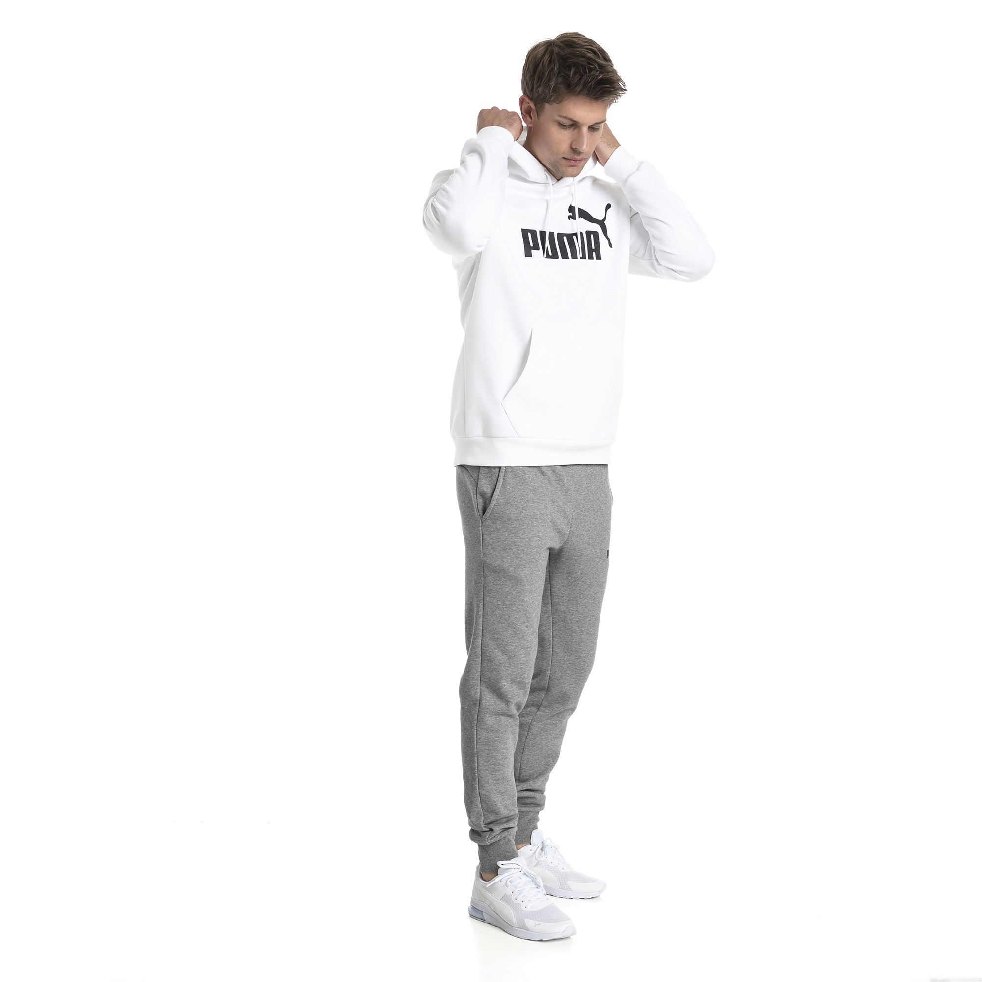 Image Puma Essentials Fleece Men's Hoodie #3