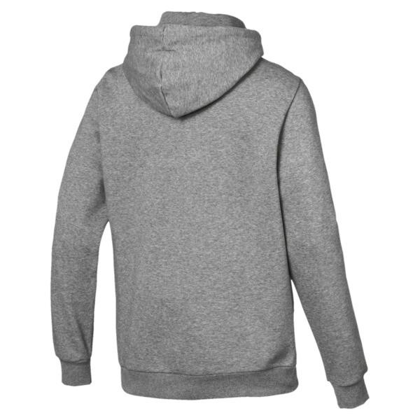 Essentials Men's Fleece Hoodie, Medium Gray Heather, large