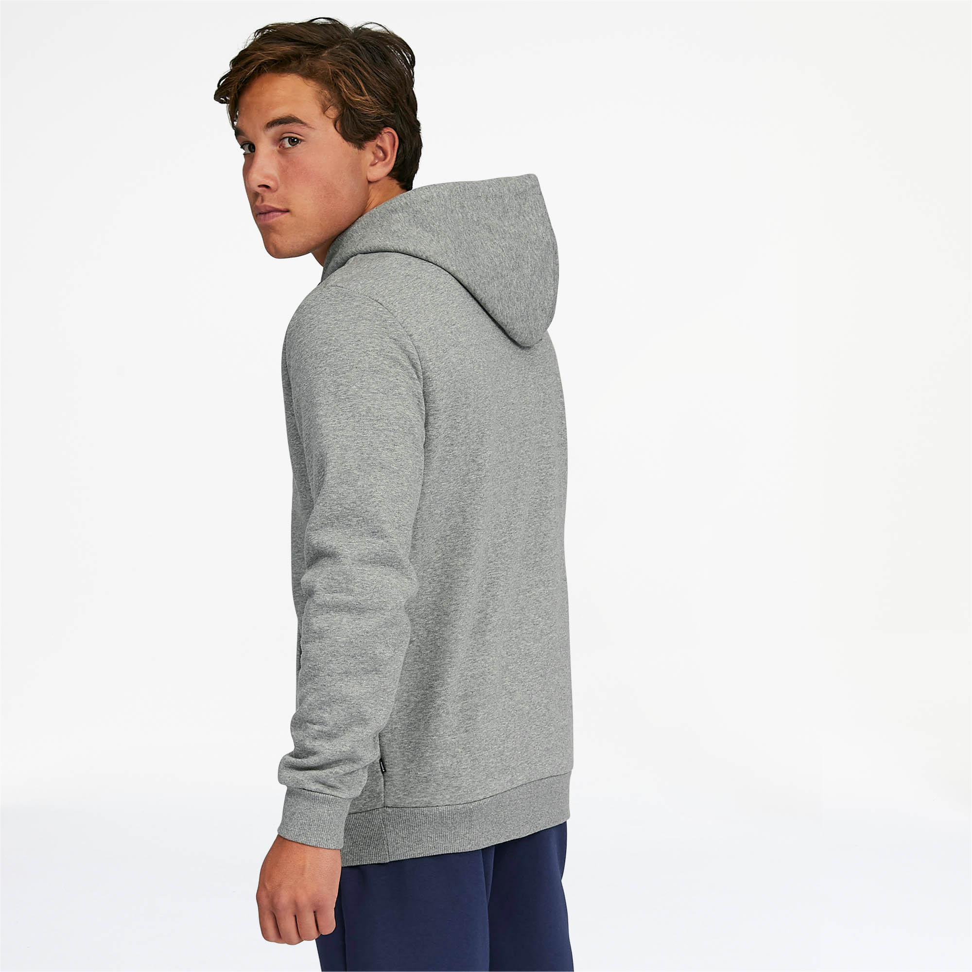 PUMA-Essentials-Men-039-s-Fleece-Hoodie-Men-Sweat-Basics thumbnail 9