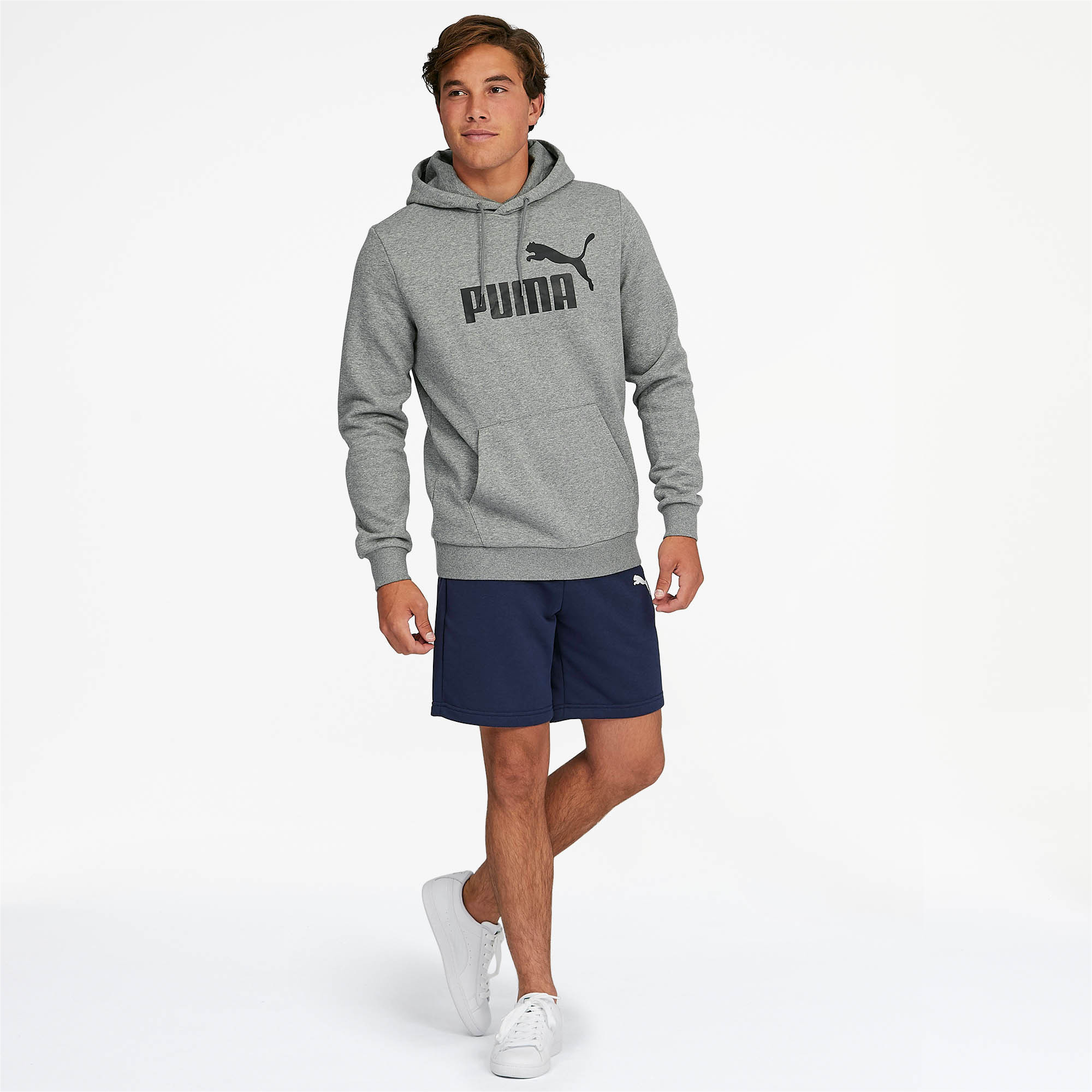 PUMA-Essentials-Men-039-s-Fleece-Hoodie-Men-Sweat-Basics thumbnail 12