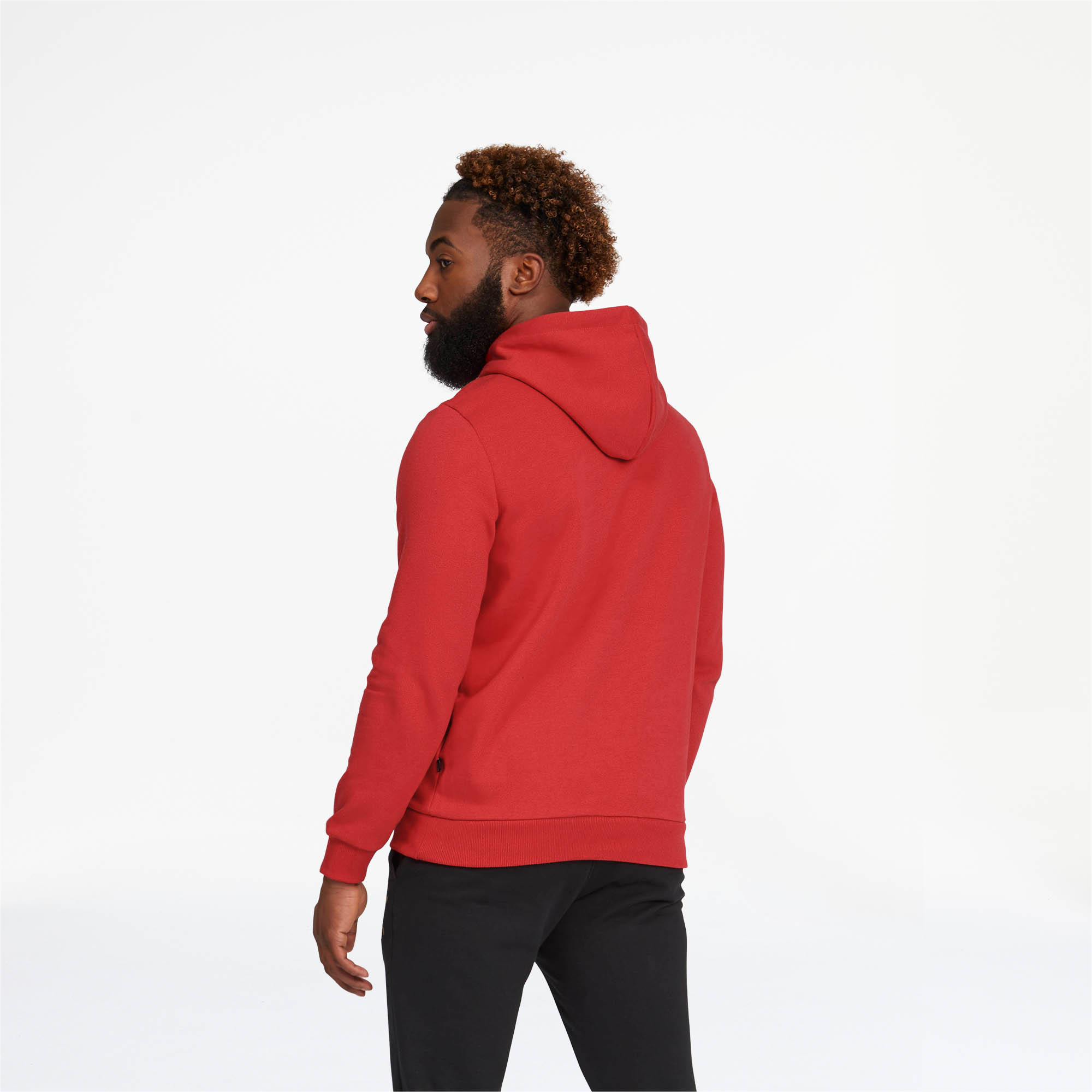 PUMA-Essentials-Men-039-s-Fleece-Hoodie-Men-Sweat-Basics thumbnail 17