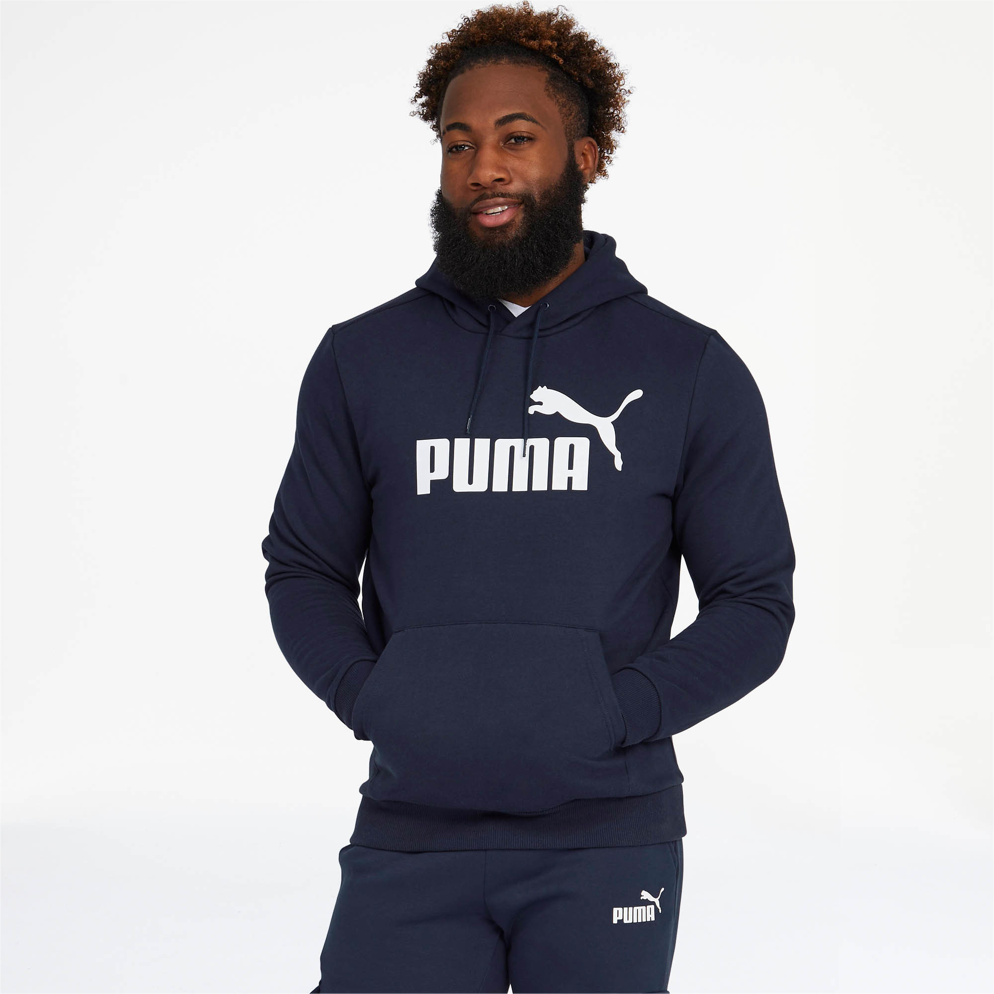 PUMA-Essentials-Men-039-s-Fleece-Hoodie-Men-Sweat-Basics thumbnail 16