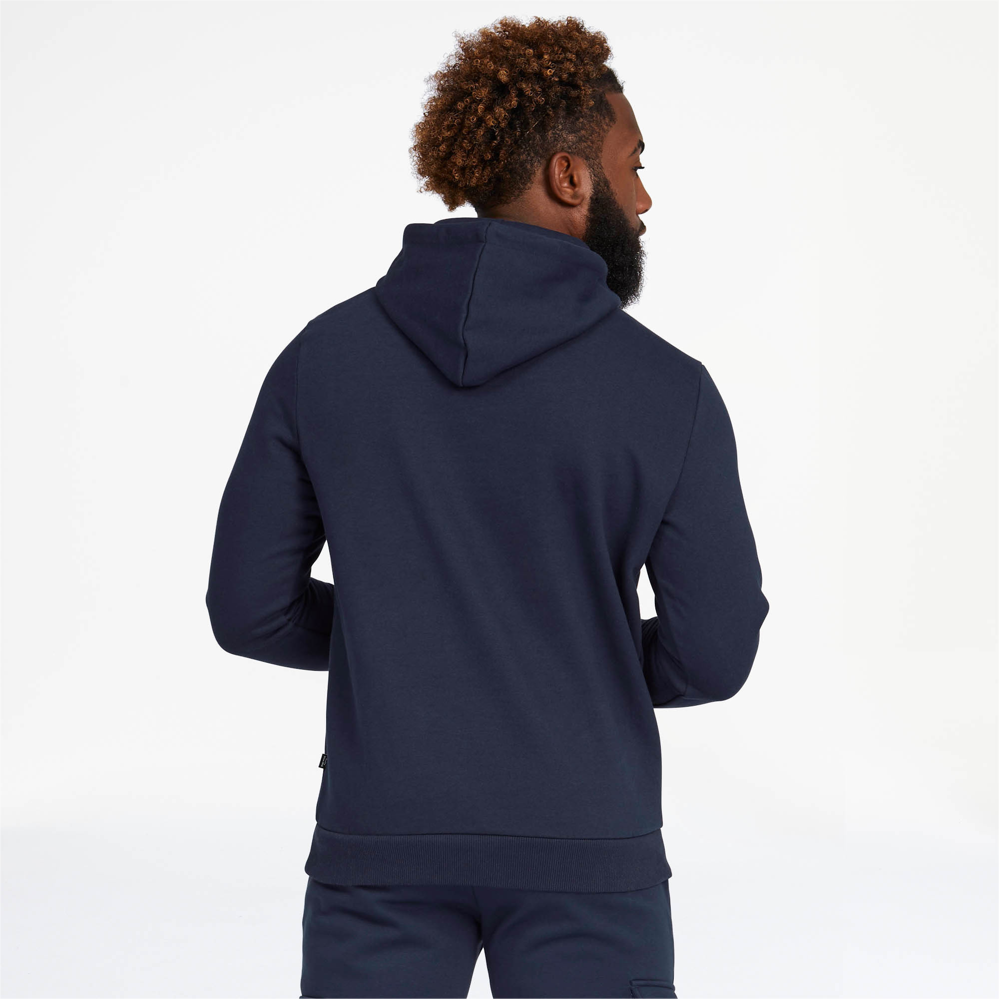 PUMA-Essentials-Men-039-s-Fleece-Hoodie-Men-Sweat-Basics thumbnail 13