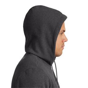 Miniatura 3 de Chaqueta de polar Essentialscon capuchapara hombre, Dark Gray Heather, mediano