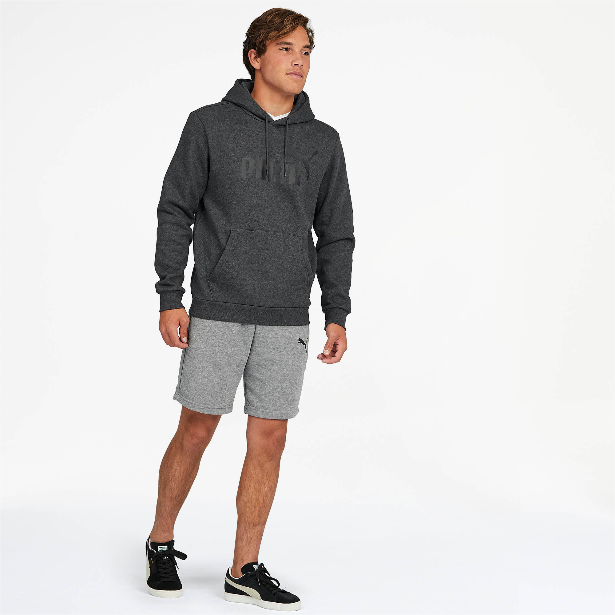 PUMA-Essentials-Men-039-s-Fleece-Hoodie-Men-Sweat-Basics thumbnail 29