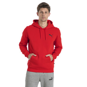 Thumbnail 2 of Sweat à capuche en polaire pour homme, Puma Red-Cat, medium