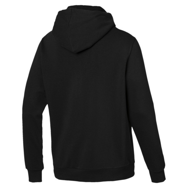 Essentials Men's Hoodie, Puma Black, large