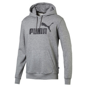 Thumbnail 1 of Essentials Men's Hoodie, Medium Gray Heather, medium