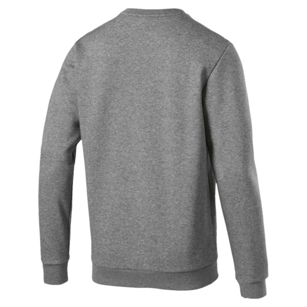 ESS ロゴ クルースウェット, Medium Gray Heather, large-JPN