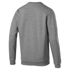 Thumbnail 2 of Essentials Men's Crewneck Sweatshirt, Medium Gray Heather, medium