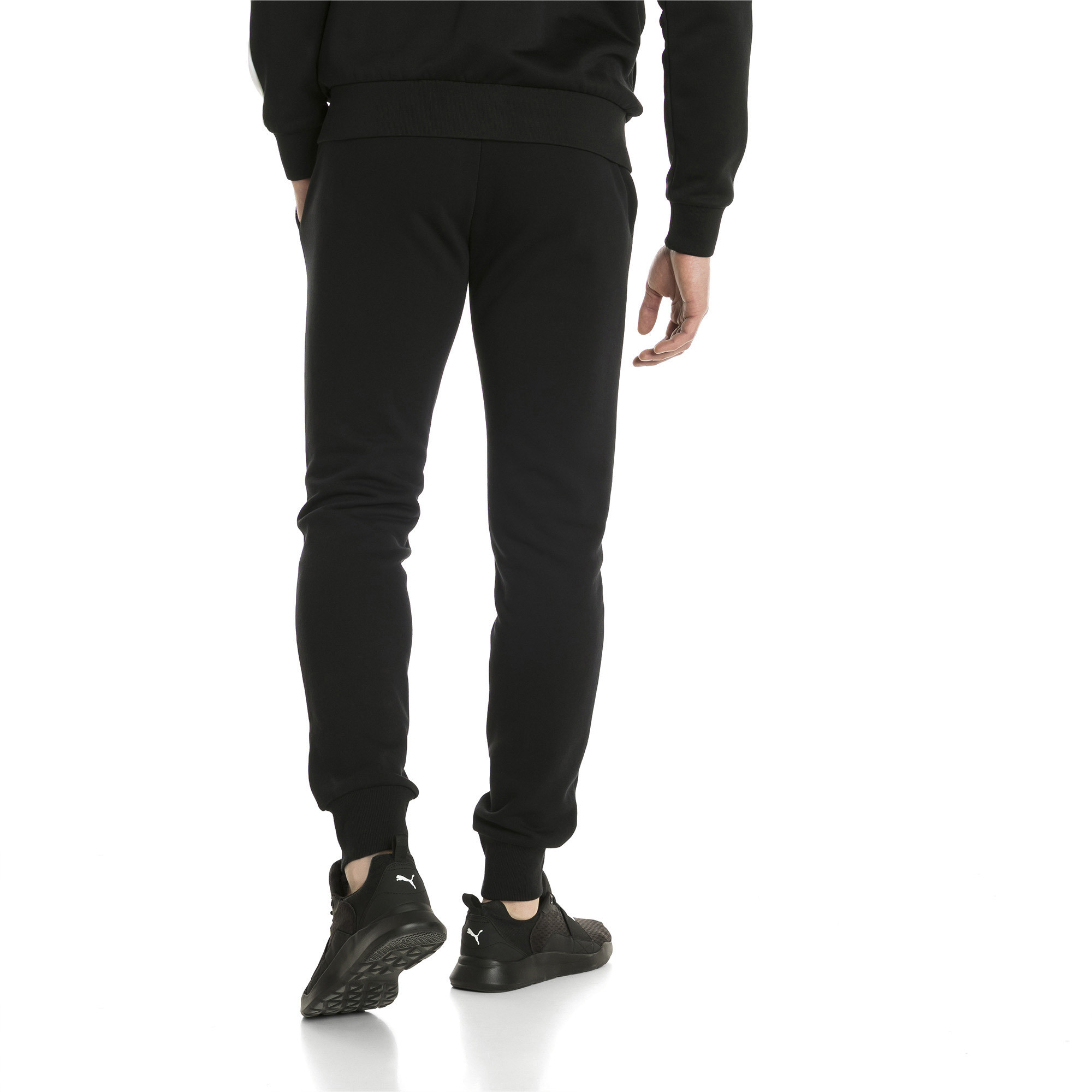 PUMA-Essentials-Men-039-s-Fleece-Knit-Pants-Men-Knitted-Pants-Basics thumbnail 14