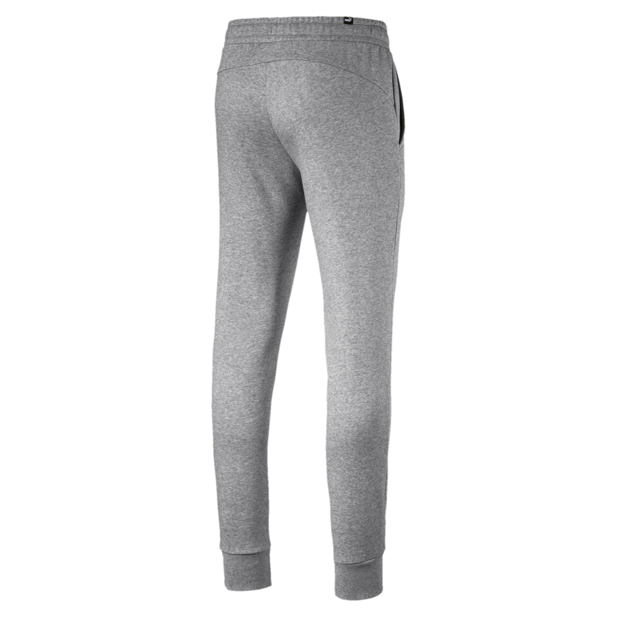PUMA-Essentials-Men-039-s-Fleece-Knit-Pants-Men-Knitted-Pants-Basics thumbnail 9