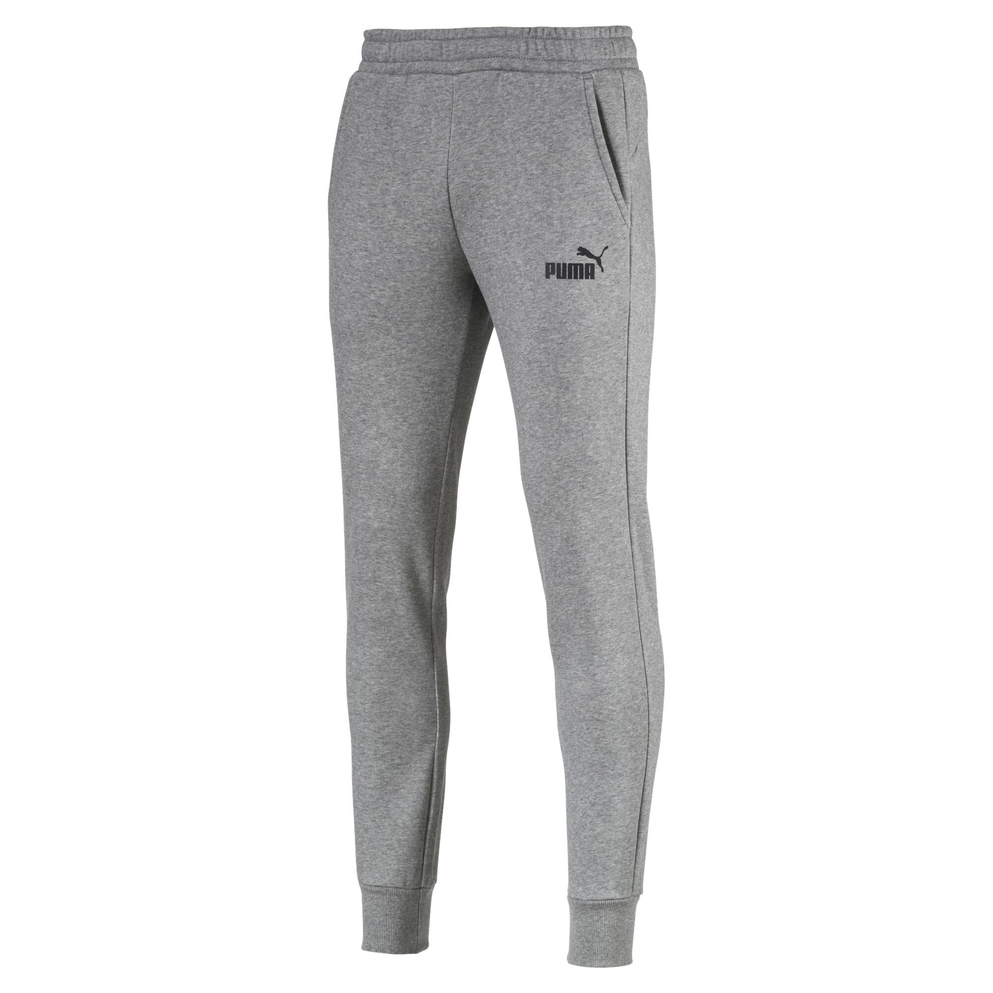 PUMA-Essentials-Men-039-s-Fleece-Knit-Pants-Men-Knitted-Pants-Basics thumbnail 7