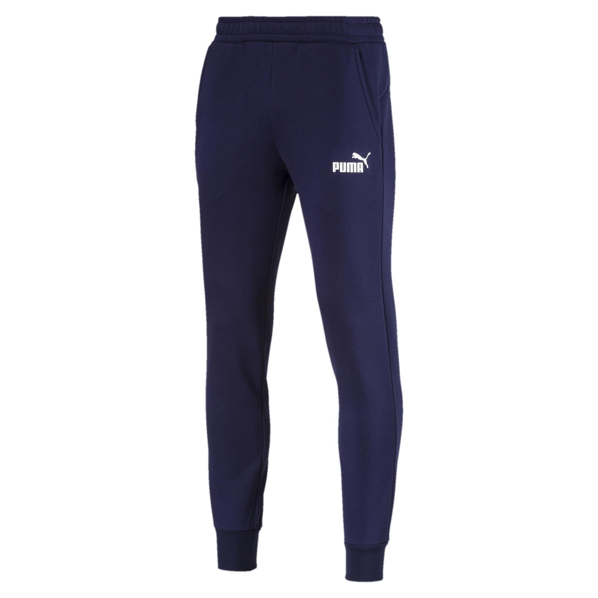 Image Puma Essentials Knitted Fleece Men's Sweatpants #4