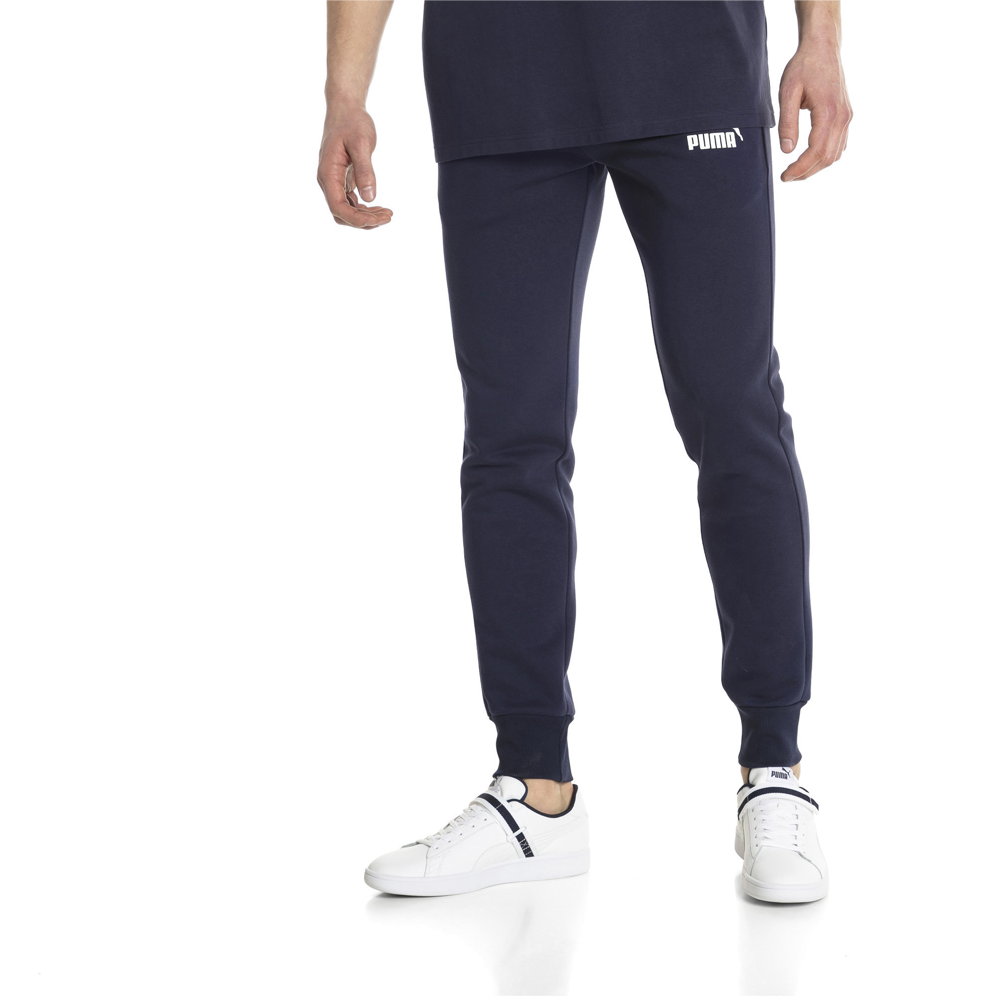 PUMA-Essentials-Men-039-s-Fleece-Knit-Pants-Men-Knitted-Pants-Basics thumbnail 6
