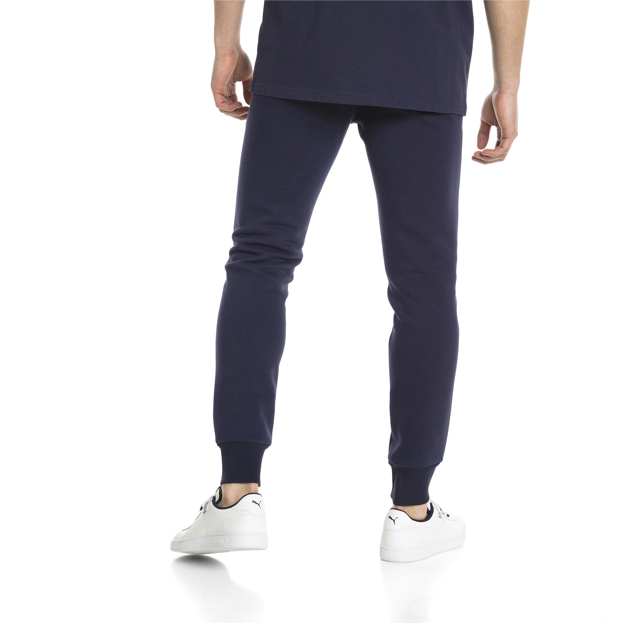PUMA-Essentials-Men-039-s-Fleece-Knit-Pants-Men-Knitted-Pants-Basics thumbnail 7