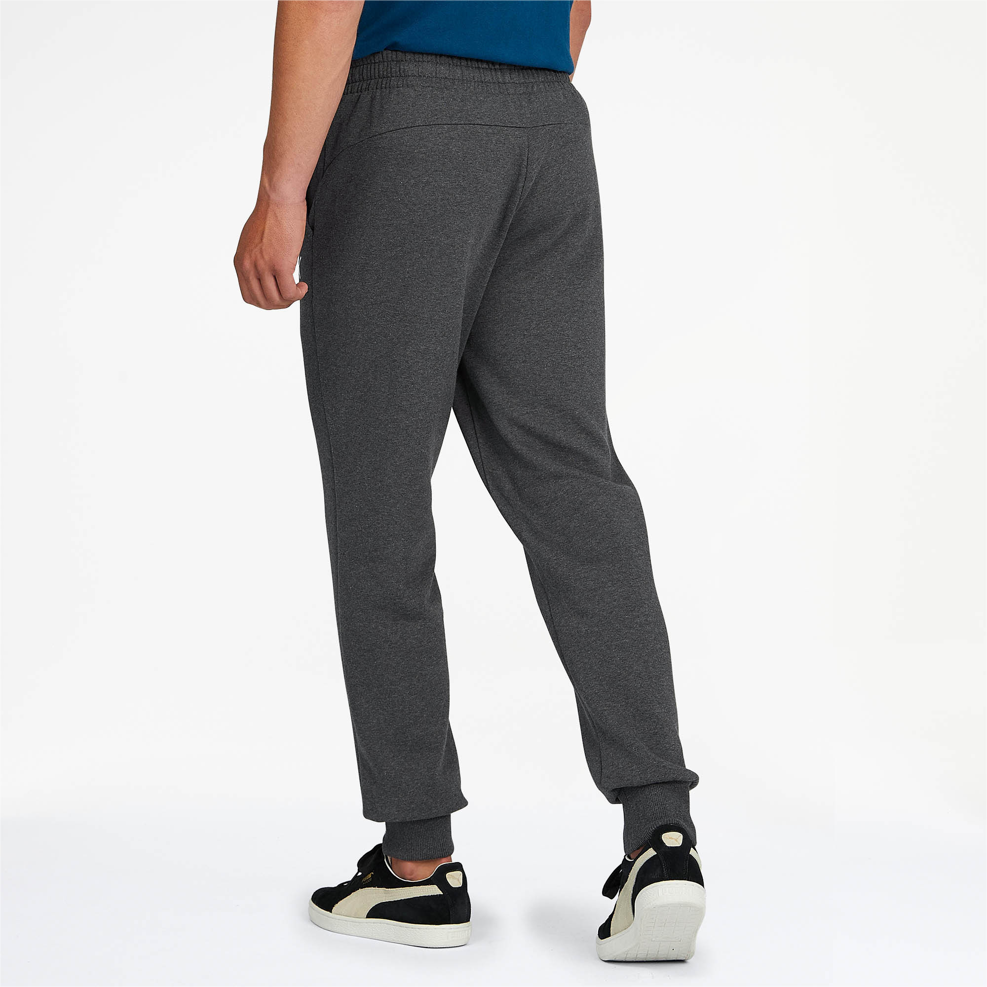 PUMA-Essentials-Men-039-s-Fleece-Knit-Pants-Men-Knitted-Pants-Basics thumbnail 17