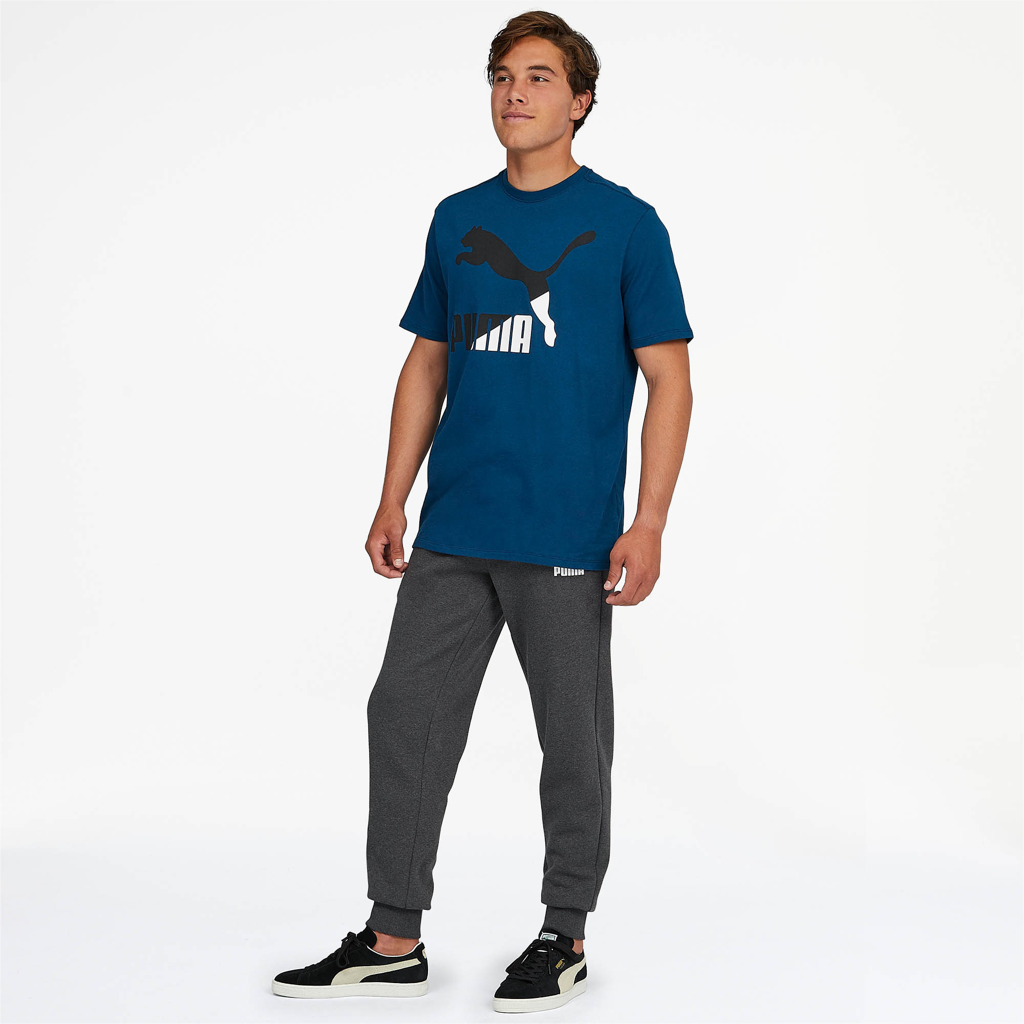 PUMA-Essentials-Men-039-s-Fleece-Knit-Pants-Men-Knitted-Pants-Basics thumbnail 18