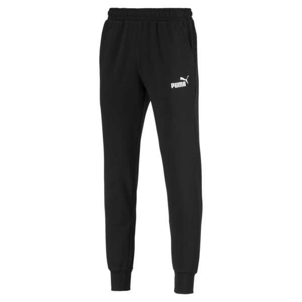 Essentials Men's Sweatpants, Puma Black, large