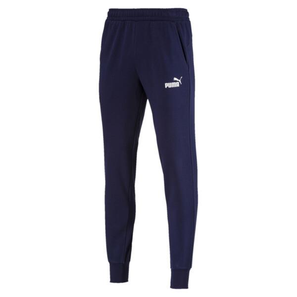 Pantalon en sweat Essentials pour homme, Peacoat, large