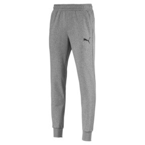 Thumbnail 1 of Essentials Men's Sweatpants, Medium Gray Heather-Cat, medium