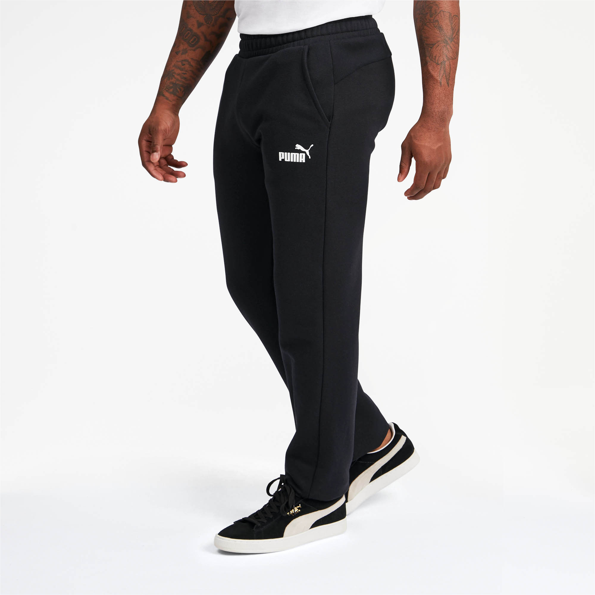 PUMA-Essentials-Men-039-s-Fleece-Pants-Men-Knitted-Pants-Basics thumbnail 14