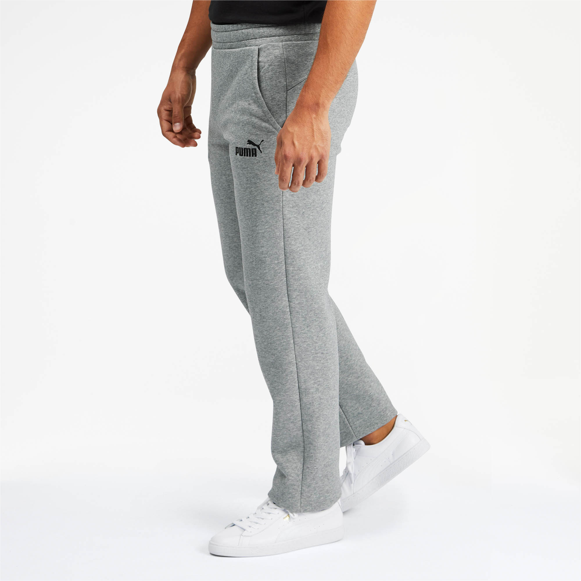 PUMA-Essentials-Men-039-s-Fleece-Pants-Men-Knitted-Pants-Basics thumbnail 9