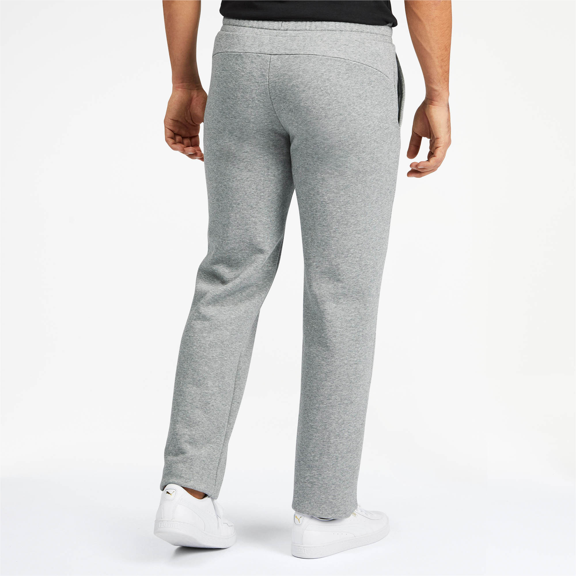 PUMA-Essentials-Men-039-s-Fleece-Pants-Men-Knitted-Pants-Basics thumbnail 10