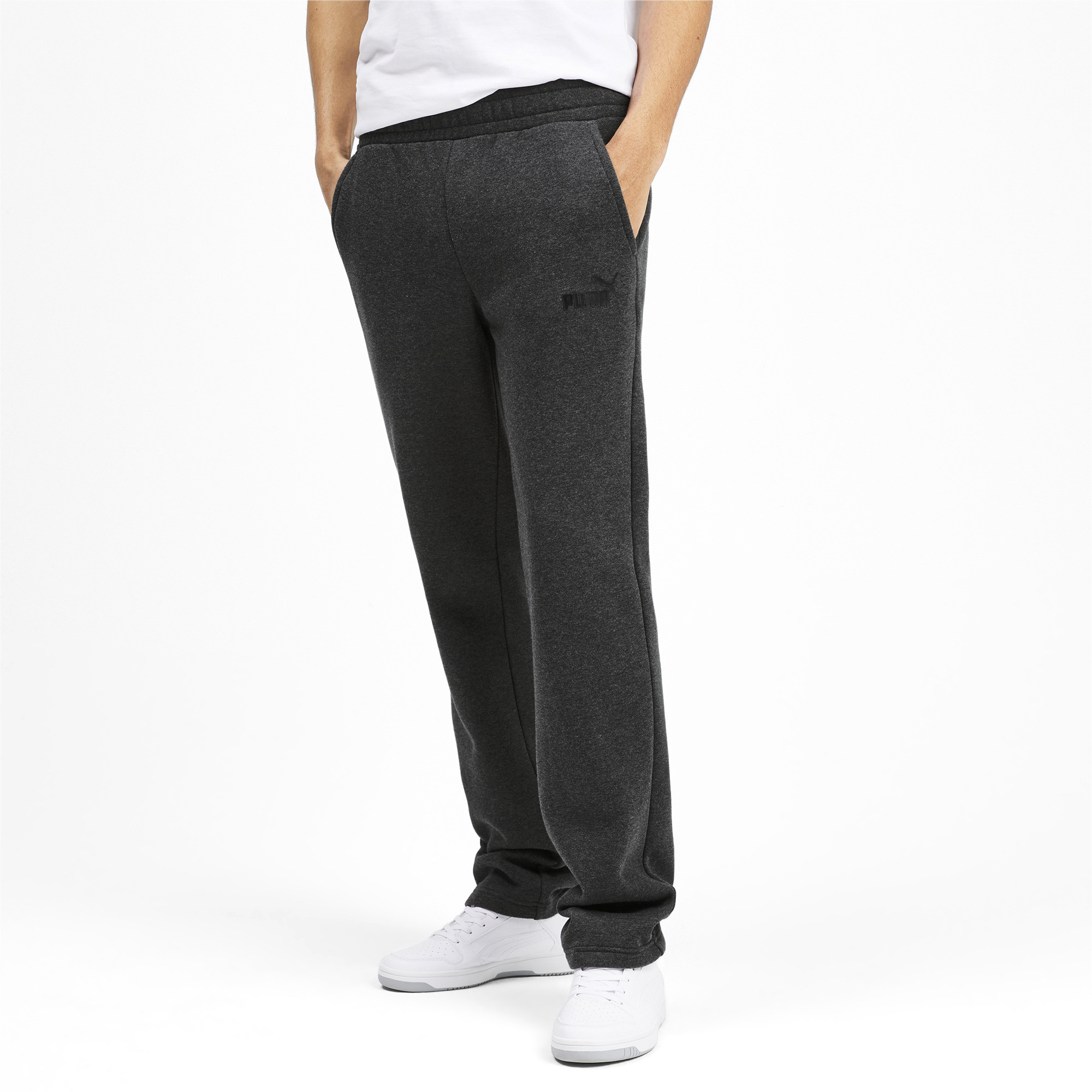PUMA-Essentials-Men-039-s-Fleece-Pants-Men-Knitted-Pants-Basics thumbnail 19