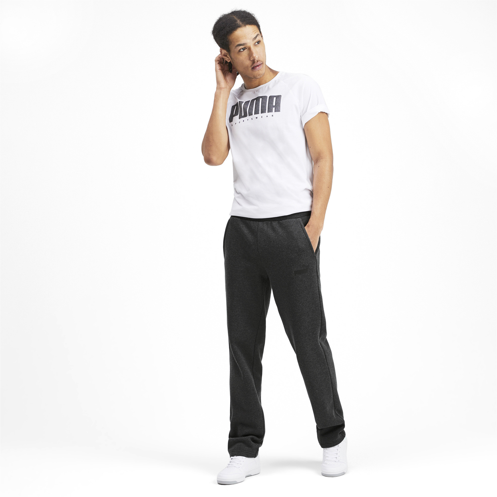 PUMA-Essentials-Men-039-s-Fleece-Pants-Men-Knitted-Pants-Basics thumbnail 21
