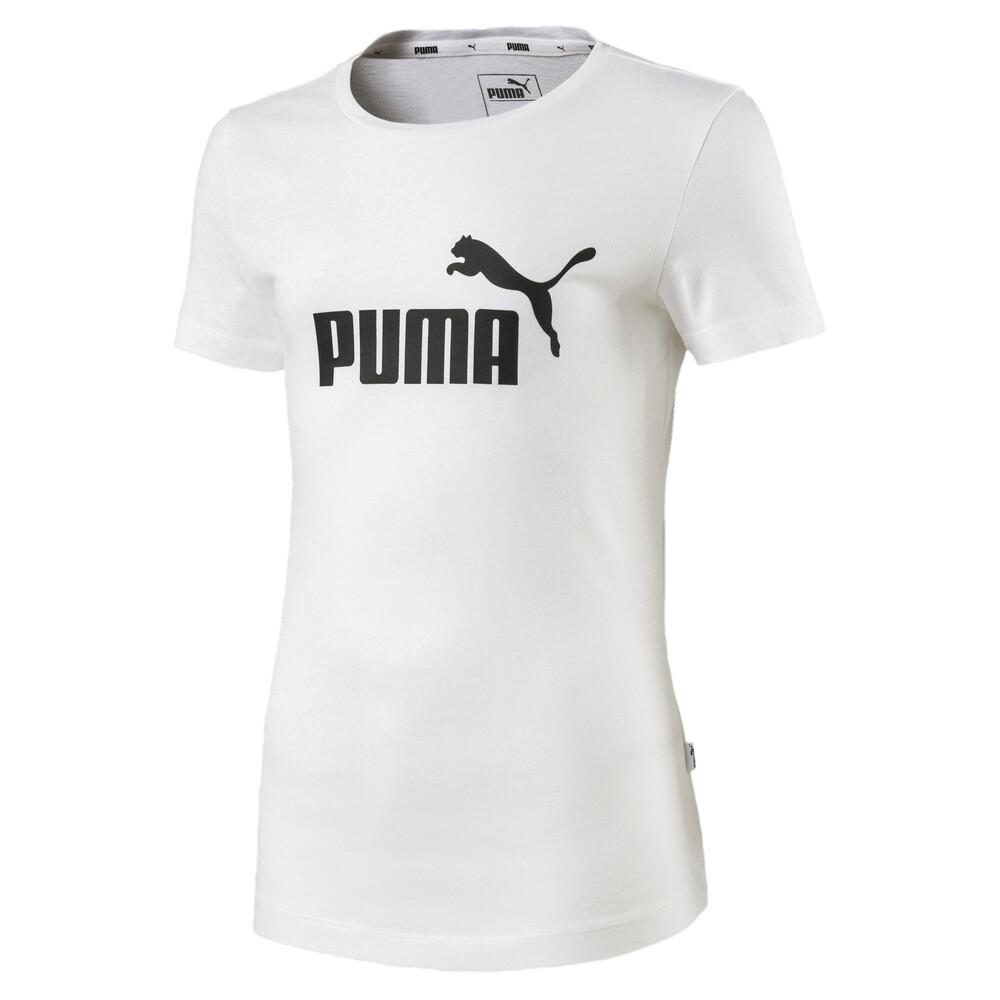 Image PUMA Camiseta PUMA Essentials Juvenil Feminina #1