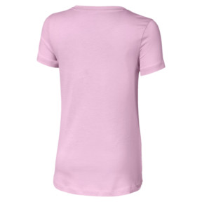 Thumbnail 2 of Essentials Girls' Tee, Pale Pink, medium