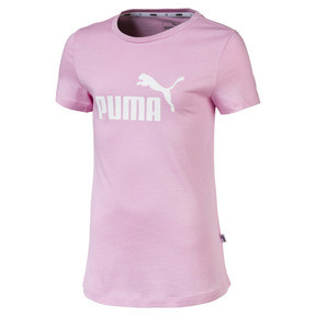 Thumbnail 1 of Essentials Girls' Tee, Pale Pink, medium