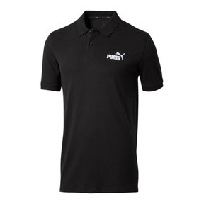 Thumbnail 1 of Essentials Men's Pique Polo, Cotton Black, medium