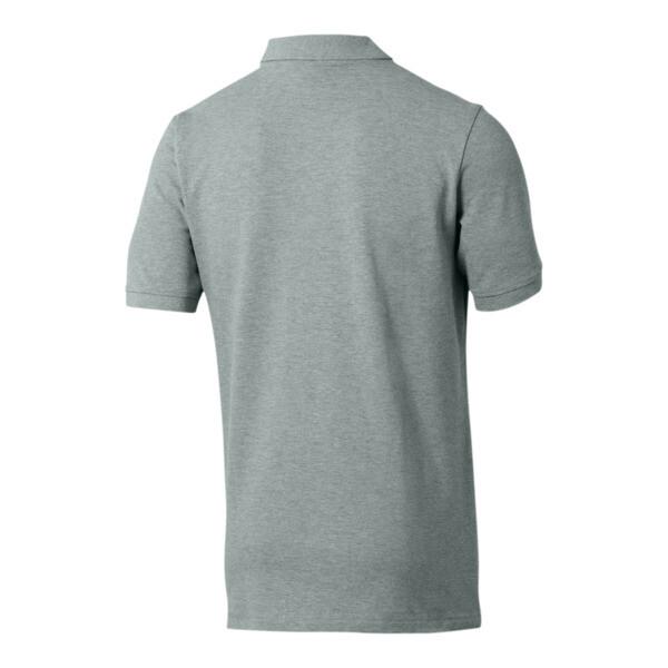 Essentials Men's Pique Polo, Medium Gray Heather, large