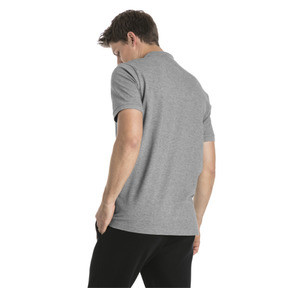Thumbnail 2 of Polo Essentials Piqué pour homme, Medium Gray Heather, medium