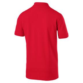 Thumbnail 2 of Essentials Men's Pique Polo, Puma Red, medium