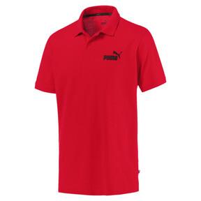 Thumbnail 1 of Essentials Men's Pique Polo, Puma Red, medium