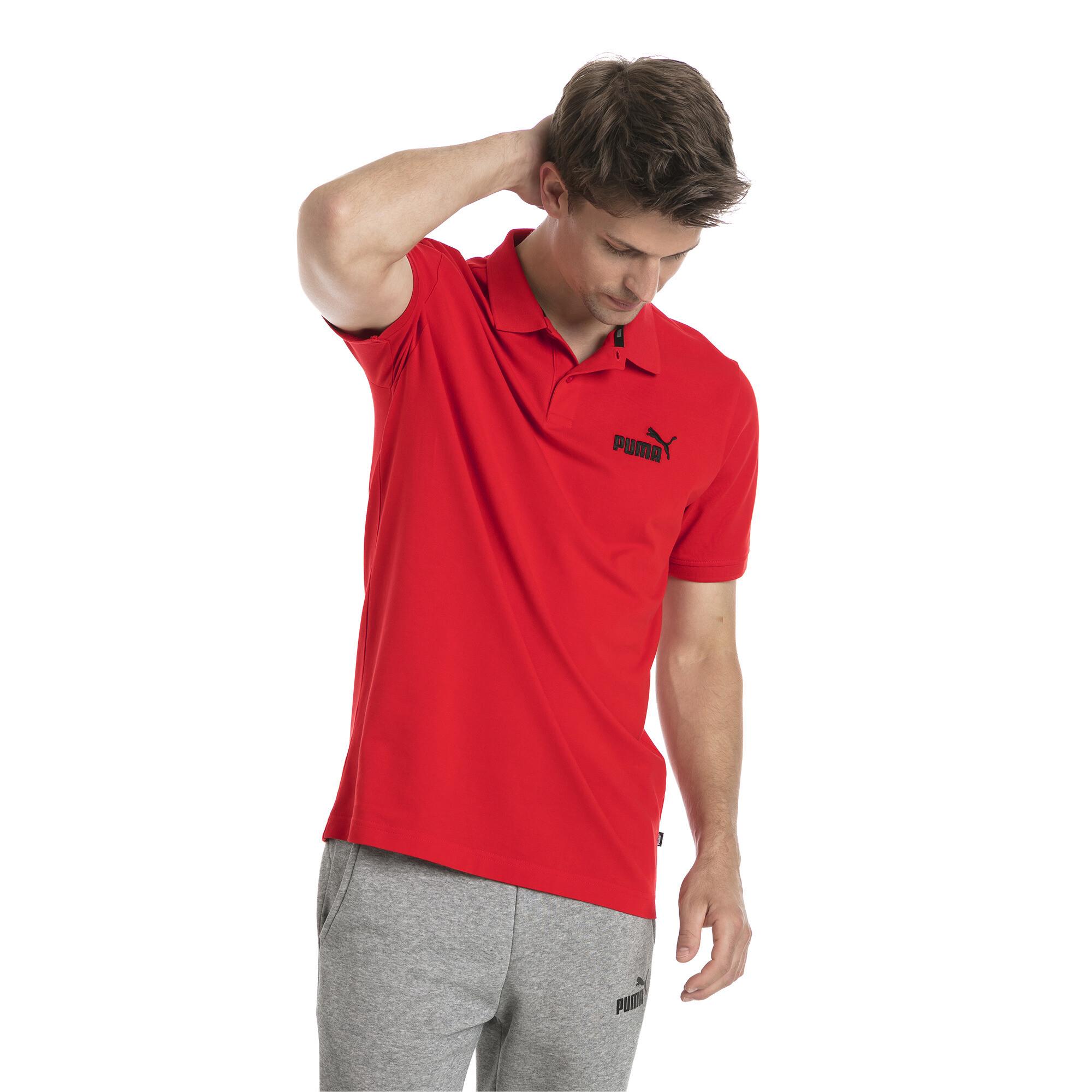 Image Puma Essentials Short Sleeve Men's Polo Shirt #1