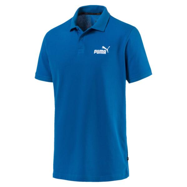 Essential Short Sleeve Men's Polo Shirt, Puma Royal, large